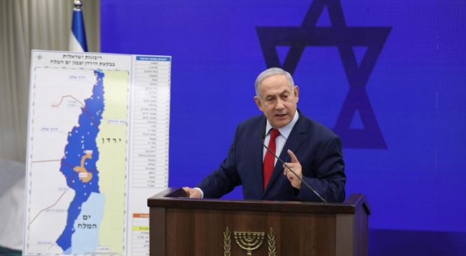 Netanyahu proposes to annex Jordan Valley if reelected