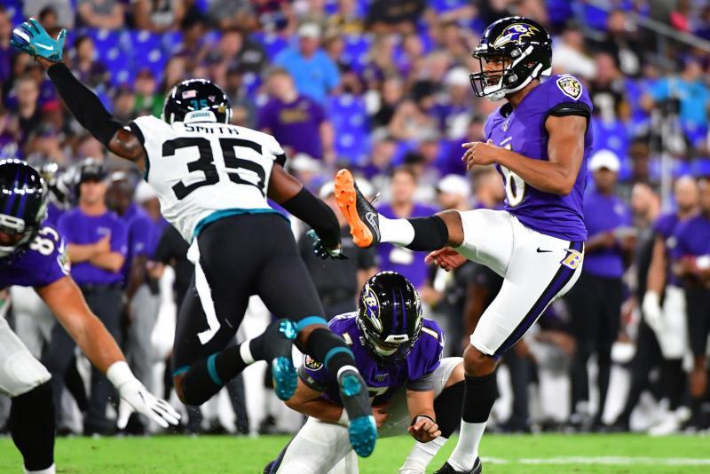 New York Jets claim former Ravens, Vikings kicker Kaare Vedvik