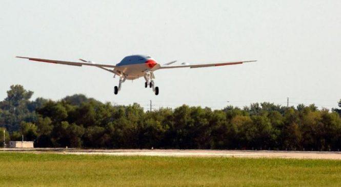 U.S. Navy's MQ-25 tanker drone completes first test flight