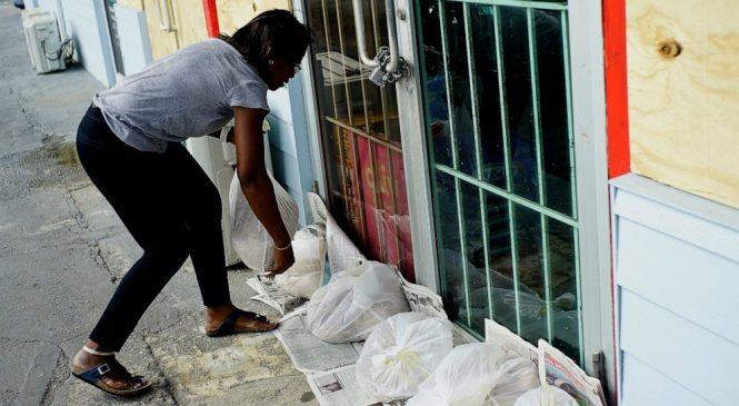 The Latest: Crawling Hurricane Dorian lashes north Bahamas