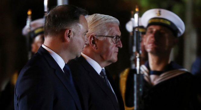 Polish, German presidents open WWII anniversary observances