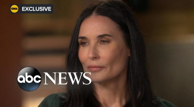 Demi Moore says she was raped at 15 by man who paid her mother