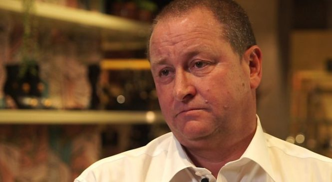 Mike Ashley: I want to be one of the big fish
