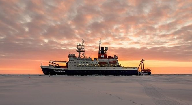 Climate change: Arctic expedition to drift in sea-ice for a year