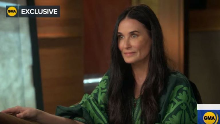 The actress discussed the claim in an interview on Good Morning America. Pic: Good Morning America