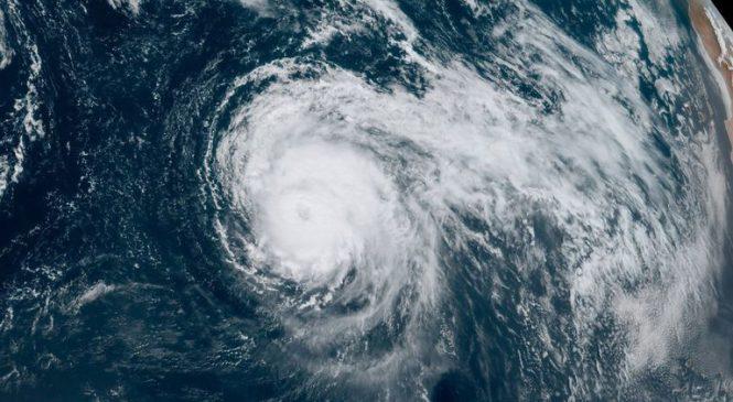 155mph winds as Hurricane Lorenzo creeps across Atlantic