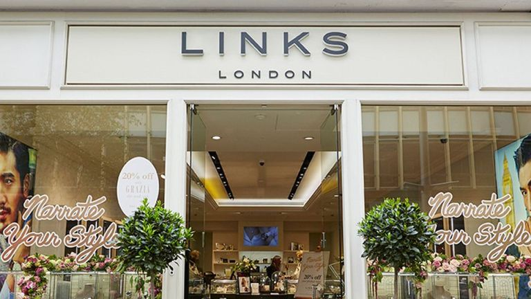 Links of London was founded in 1990 and is currently owned by the Folli Follie Group. Pic: LoL