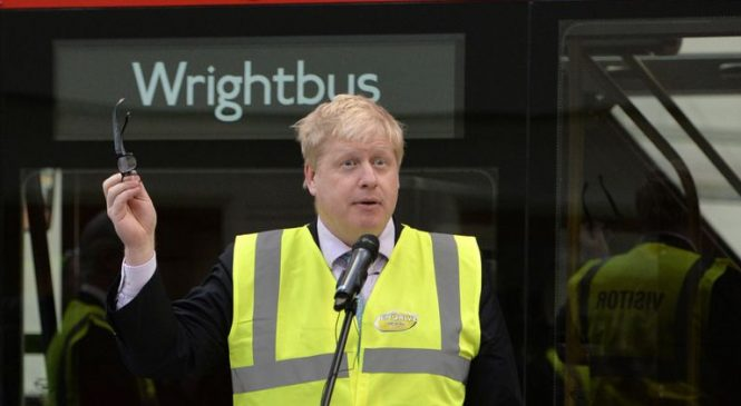 'Boris Bus' maker Wrightbus in urgent rescue talks