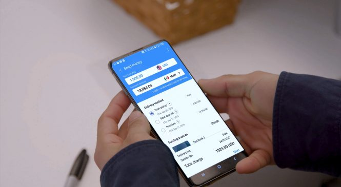 Samsung Pay is rolling out a money transfer service for US users