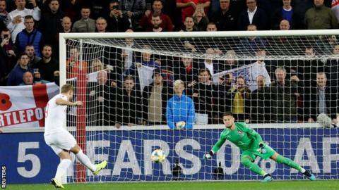 Czech Republic 2-1 England: Visitors must wait to qualify for Euro 2020