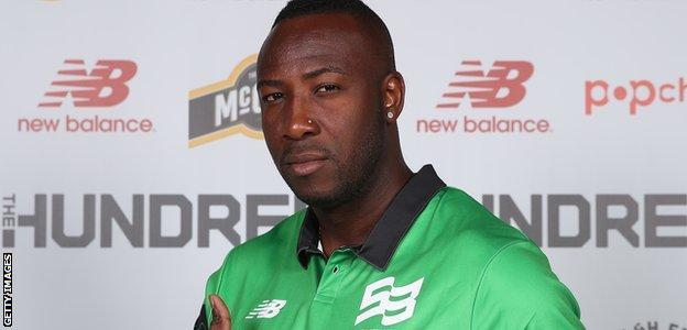 Andre Russell will play for Southampton-based Southern Brave, alongside Jofra Archer, James Vince and Chris Jordan