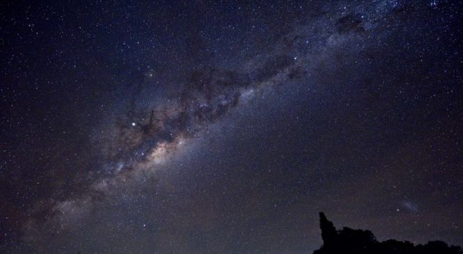 Centre of the Milky Way 'recently' exploded
