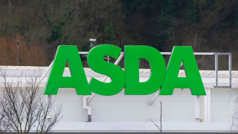CARDIFF, UNITED KINGDOM - JANUARY 26: An ASDA sign at an ASDA store on January 26, 2019 in Cardiff, United Kingdom. (Photo by Matthew Horwood/Getty Images)