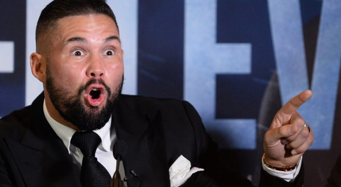 'The world's gone mad' – Tony Bellew reacts to Tyson Fury on WWE and KSI vs Logan Paul