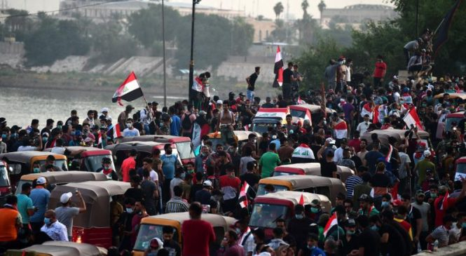 Iraq deploys Counter-Terrorism Service in response to nationwide protests