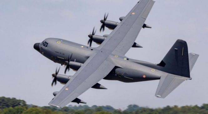 Lockheed nabs $14.4M contract to support France's C-130-J aircraft