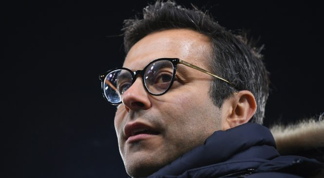 Leeds owner Andrea Radrizzani plays down talk about investors despite PSG link