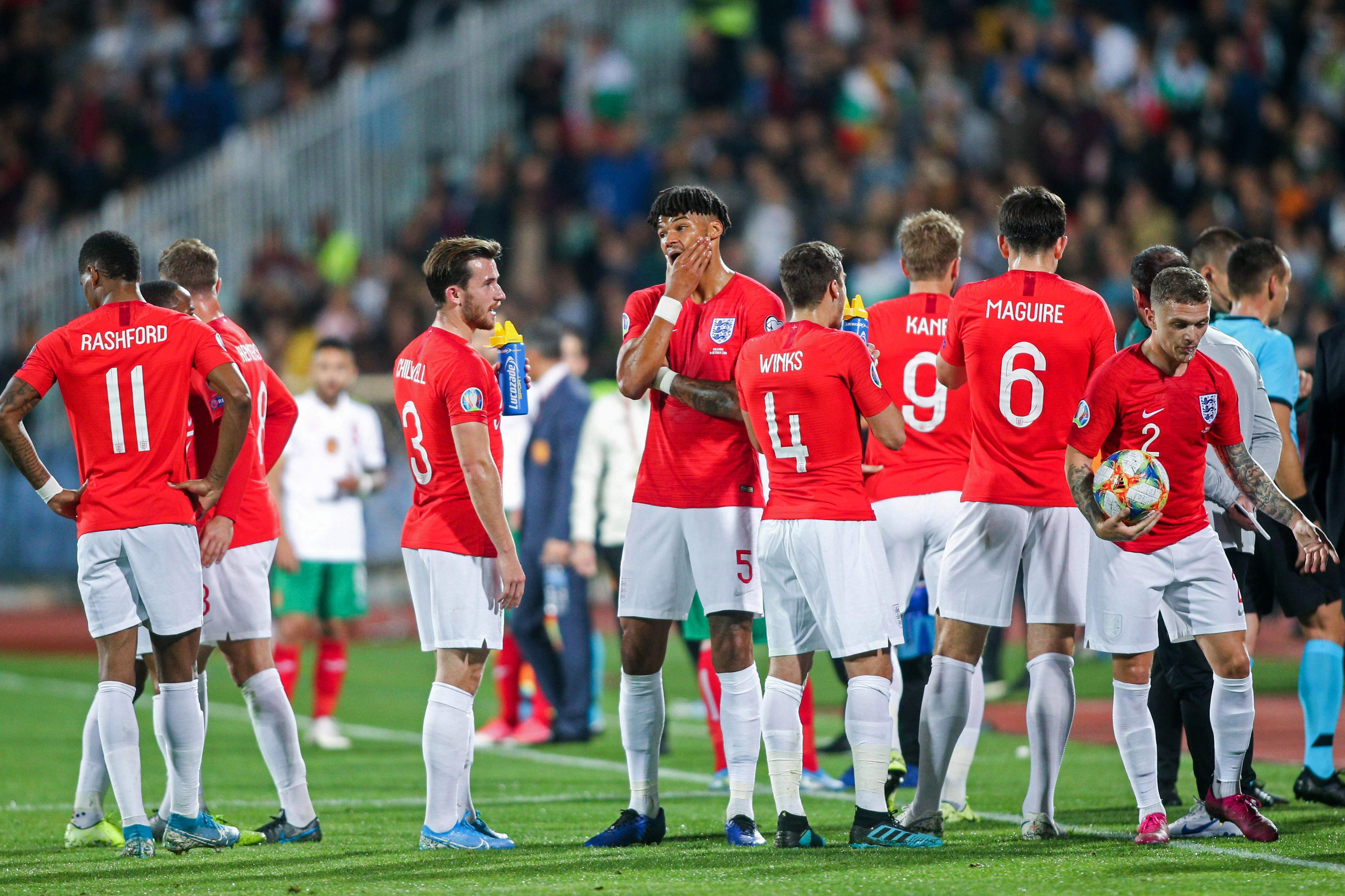 England's game against Bulgaria was stopped TWICE due to racist chanting and there are fears there could be similar scenes in Belgrade