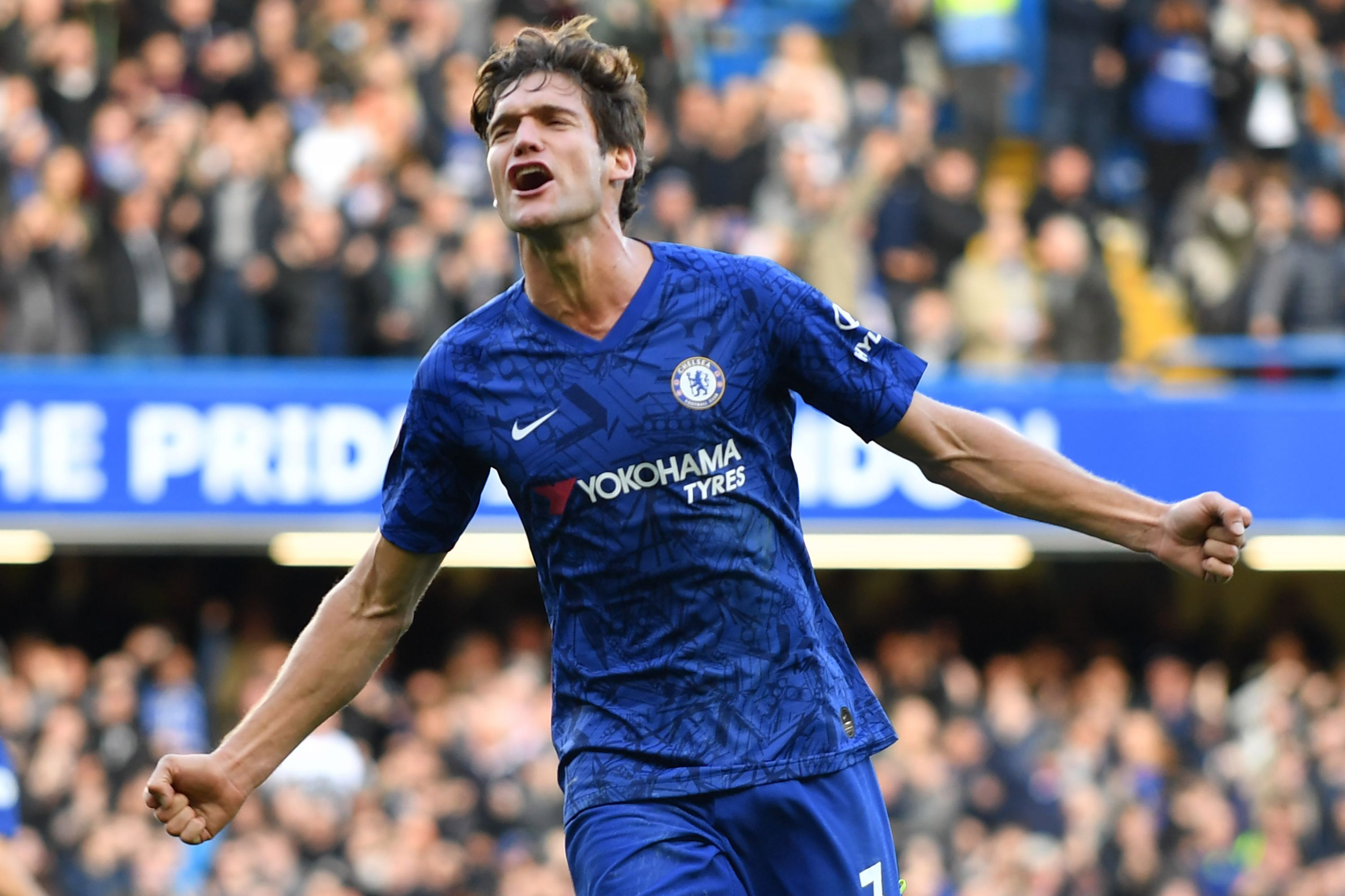 Marcos Alonso scored the winner for Chelsea