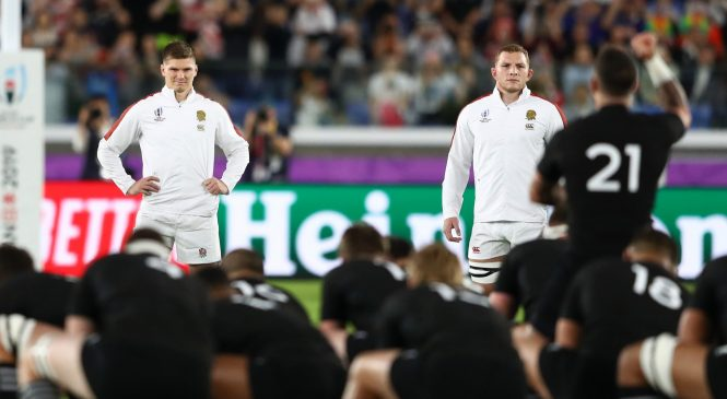 Owen Farrell explains England's awesome response to New Zealand's Haka before historic Rugby World Cup victory