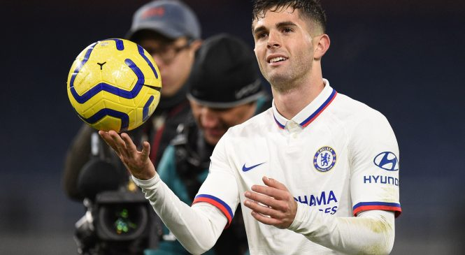 Frank Lampard says Christian Pulisic 'showed the full package' after hat-trick against Burnley