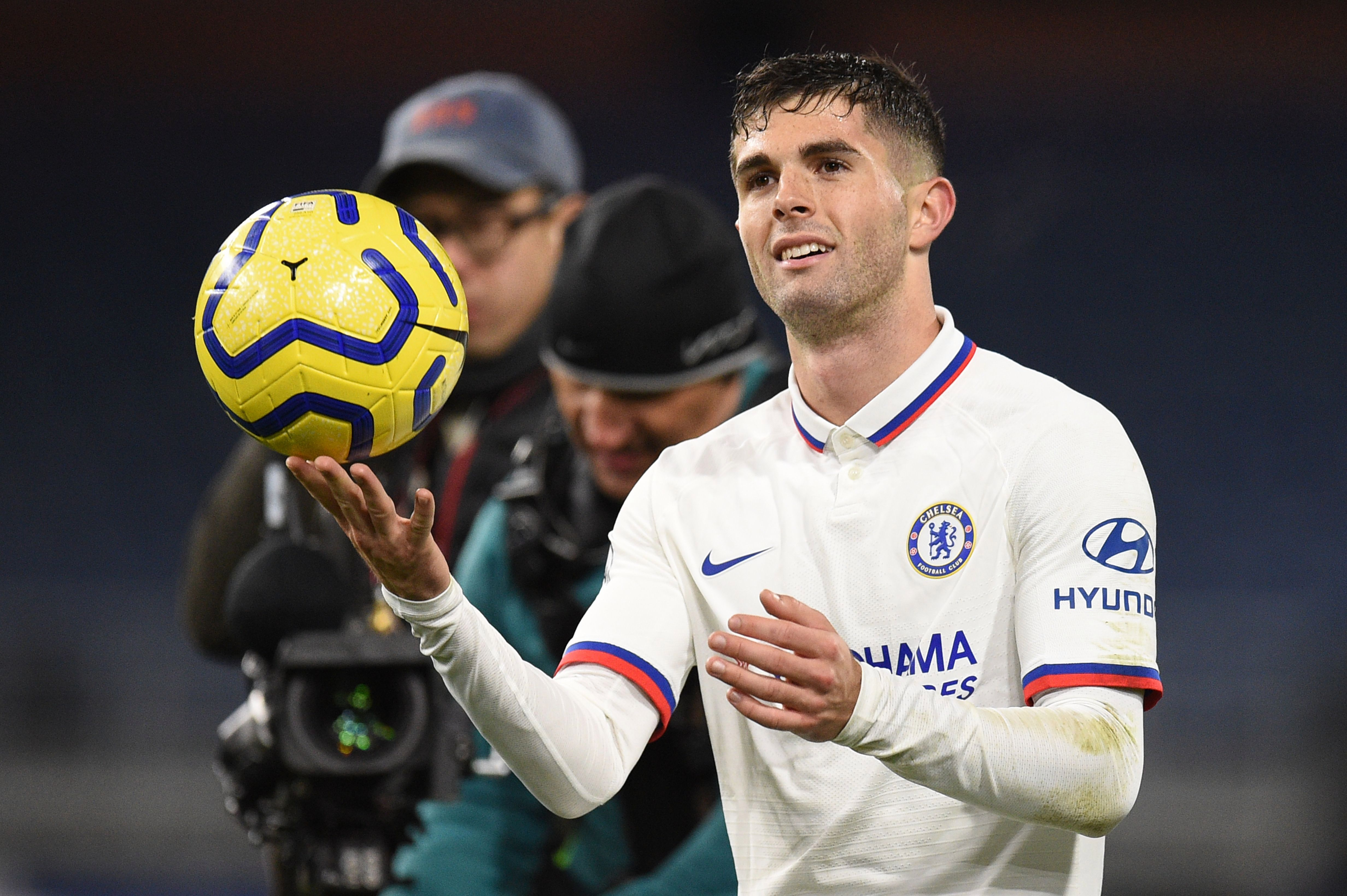 Christian Pulisic left Turf Moor with the match ball