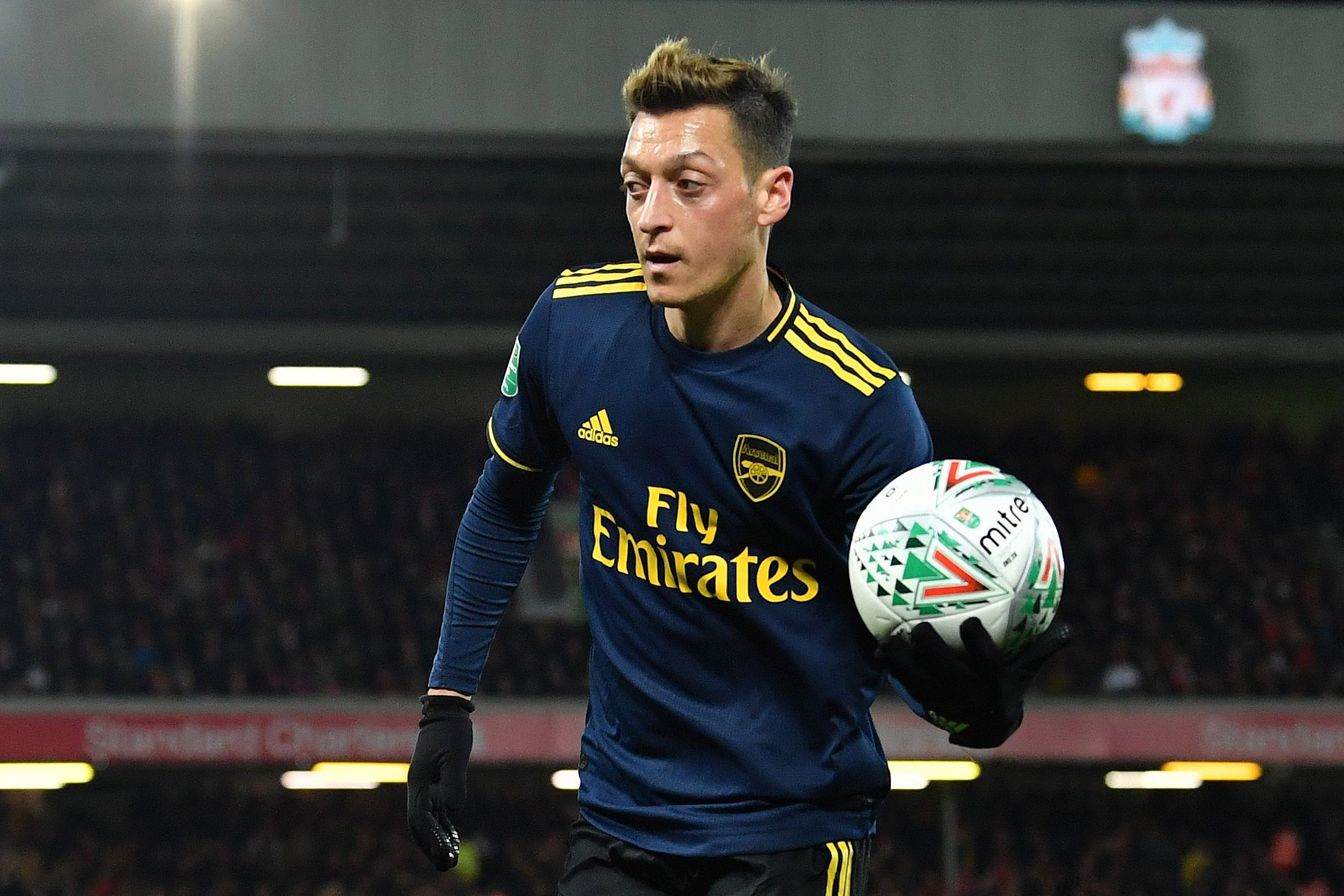 Mesut Ozil grabbed an assist on his return to the Arsenal team