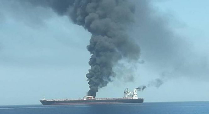 Reports: Iranian oil tanker attacked off Saudi Arabia