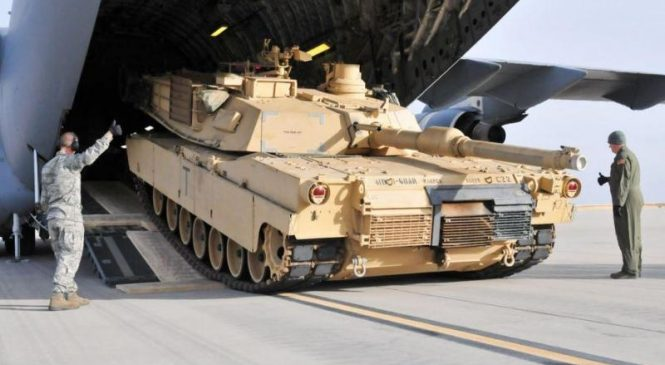 Taiwan ready to buy A1M2T Abrams tanks from U.S.