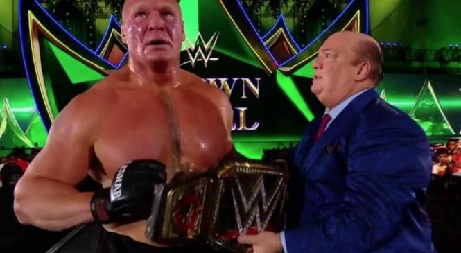 WWE Crown Jewel: Brock Lesnar gets revenge, Bray Wyatt becomes Universal Champion
