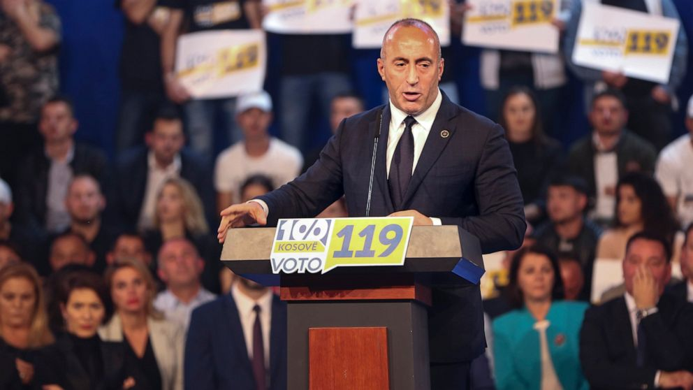 Kosovo opposition wins snap vote for new parliament