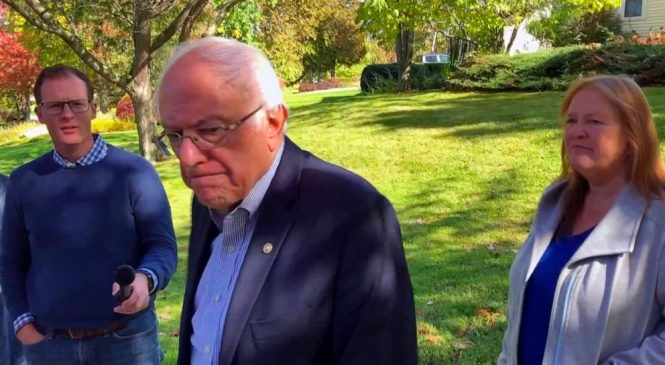 Sanders says he will resume campaign 'as soon as possible'