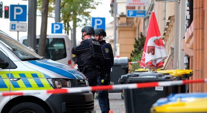 2 killed in shooting in eastern Germany, 1 person arrested