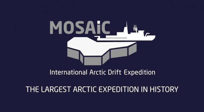 MOSAiC expedition selects ice floe for drift through Arctic Ocean