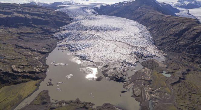 Images reveal Iceland's glacier melt