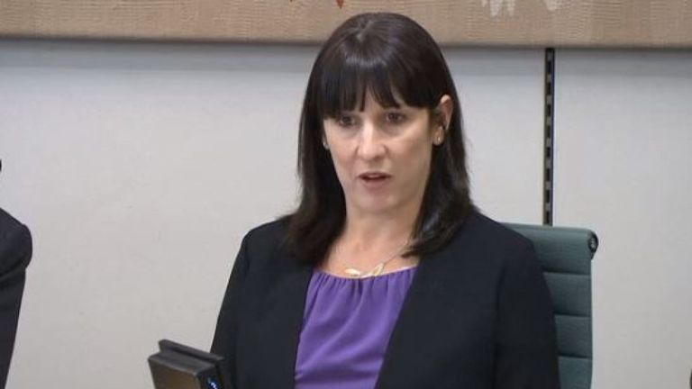 Rachel Reeves castigates Carillion executives for their part in the firm's failure