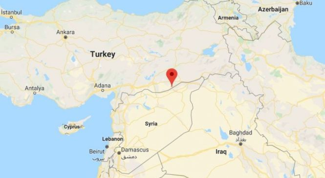 Syrian Kurdish forces withdraw from border town