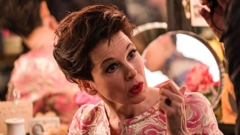 Renee Zellweger plays Judy Garland in a new biopic
