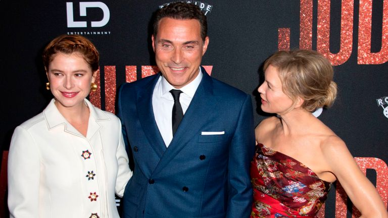 Judy stars Jessie Buckley, Rufus Sewell and Renee Zellweger