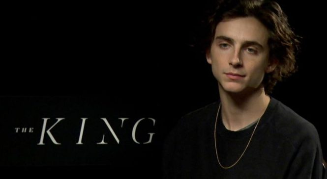 Chalamet: 'Like Trump, Henry V is insulted by anything'