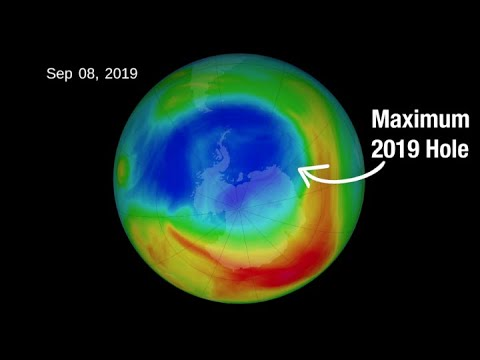 Warm air shrinks ozone hole to smallest size on record