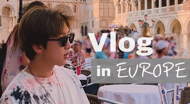 Watch: RM visits Europe in new BTS vacation log