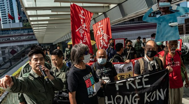 Hong Kong protests haven't hurt our profitability, say bank CEOs