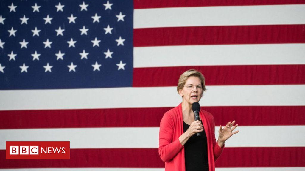 US election 2020: Elizabeth Warren sets out health funding plan