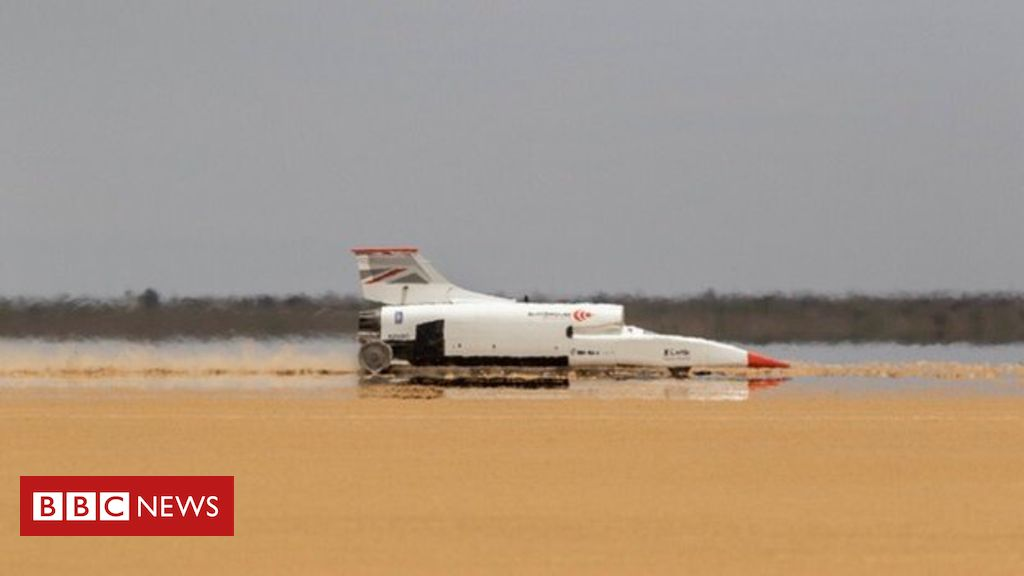 Bloodhound car ramps up its speed to 461mph