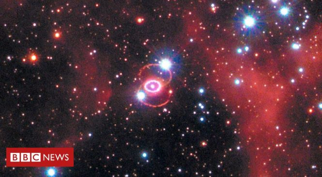 Supernova 1987A: 'Blob' hides long-sought remnant from star blast