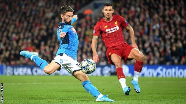 Liverpool 1-1 Napoli: Defending champions must wait on last-16 qualification