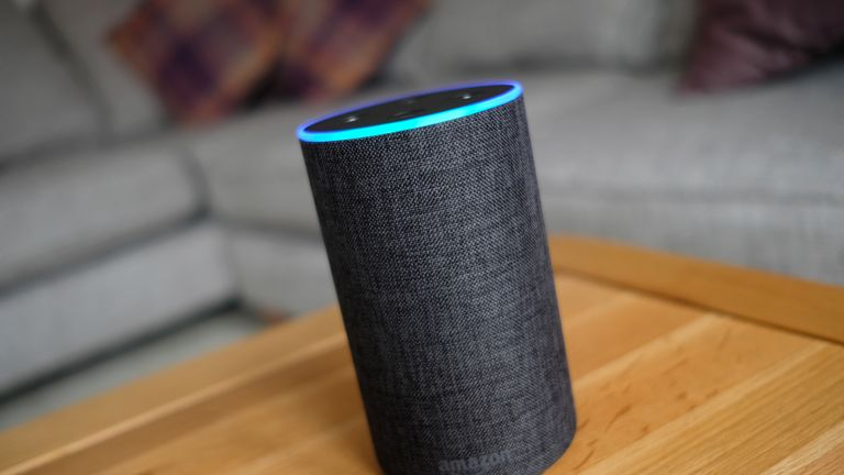 A general view of an Amazon Echo smart speaker. Amazon's Alexa is set to answer people's health queries by searching the official NHS website.
