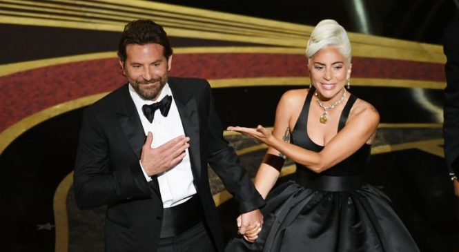 Lady Gaga: 'We mapped out Oscars performance to look like love'
