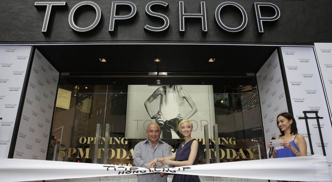 Coppel to chair Top Shop tycoon Green's retail empire
